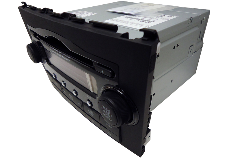 New 07 08 09 2010 Honda Crv Cr V Radio Stereo Mp3 6 Disc