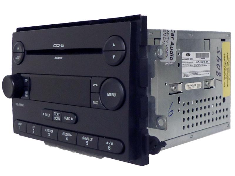 06 07 08 Ford Explorer Mercury Mountaineer F150 Radio Sub 6 Disc Changer CD